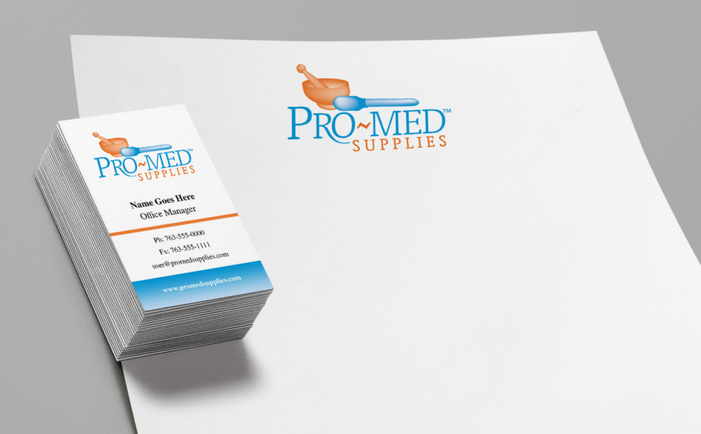Letterhead and Business Card designs