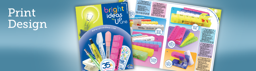 Promotional Products Catalog Graphic Design
