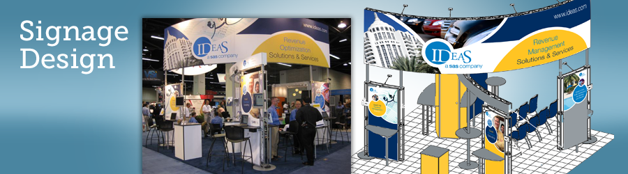 Tradeshow Booth Display Graphics