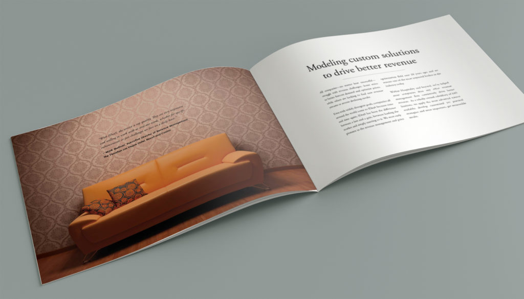 Brochure design inside spread