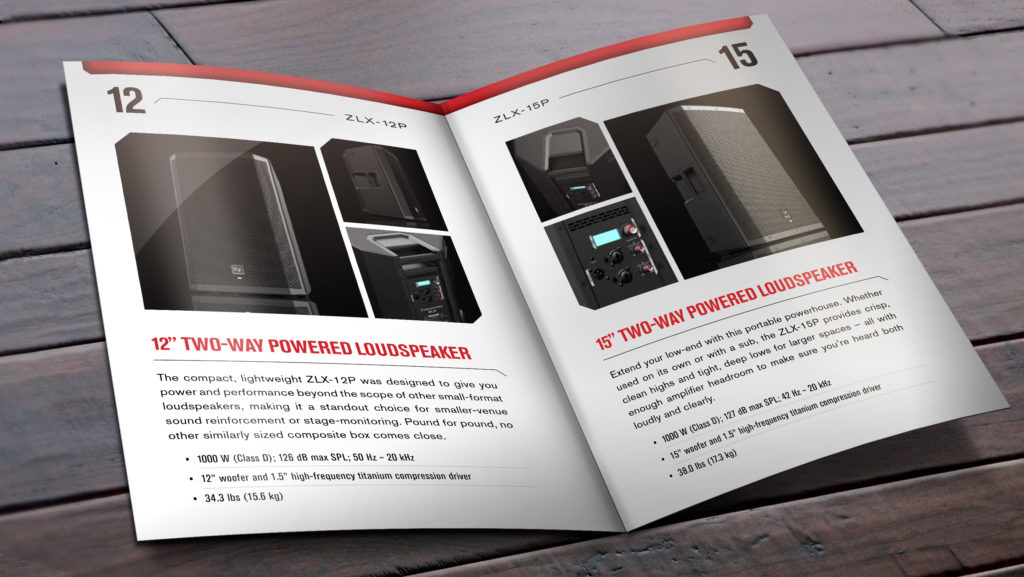 Picture of inside spread product pages